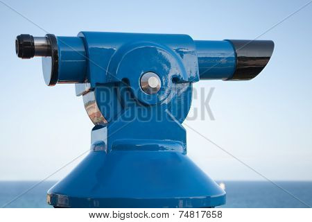 Blue Paid Tourist Telescope