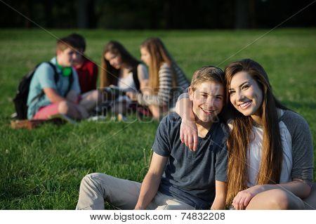 Cute Teen Couple