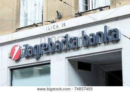 Zagrebacka Banka Logo