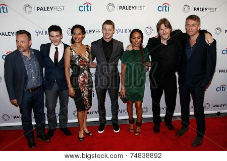NEW YORK-OCT 18: The cast of