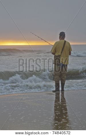 Early Ocean Fishing In The Outer Banks
