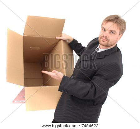 Manager And Empty Box