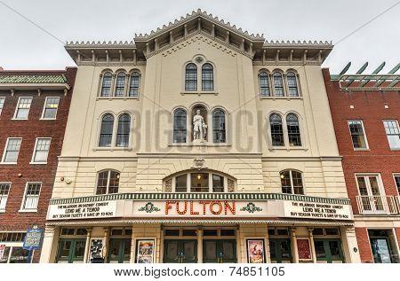 Fulton Opera House, Lancaster Pennsylvania