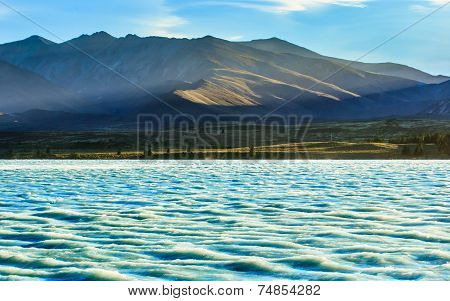 Lake Tekapo In Summer