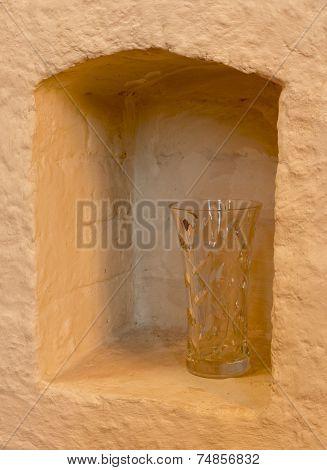 Niche With Vase
