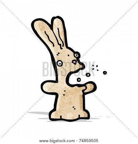 burping rabbit cartoon