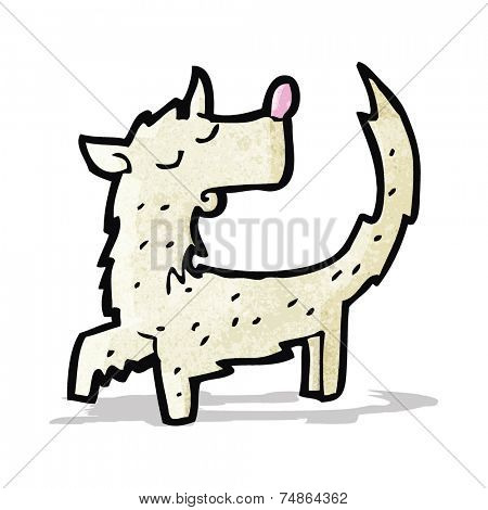 scruffy little dog cartoon