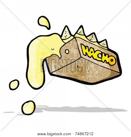 cartoon nachos