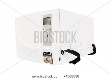 image of a box for sterilization of medical tools