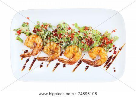 Ebi Sarada Salad