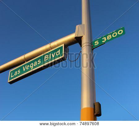 Las Vegas Boulevard Signage