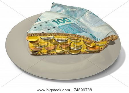 Slice Of Real Money Pie