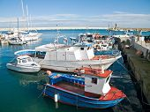 Landscape view of Monopoli port. Apulia.