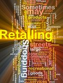 Retailing Word Cloud Box Package