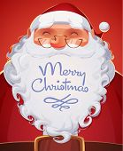 stock photo of christmas claus  - Santa Claus portrait - JPG