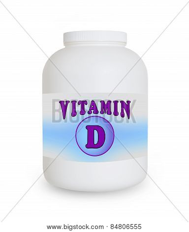 Vitamin D Container