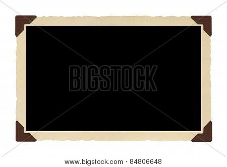 Old Photo Border (clipping Path)