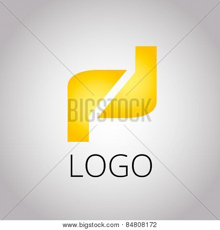 Icon Design Element With Business Card Template Vector Eps 10