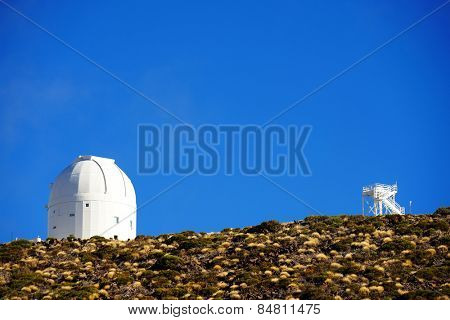 Izana Atmospheric Research Center , El Teide National Park, Tenerife, Spain