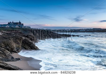 Stormy Seas At Newquay