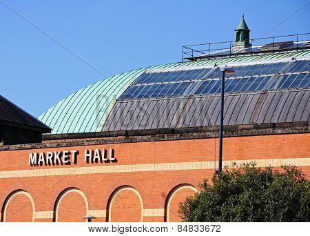Derby market hall.