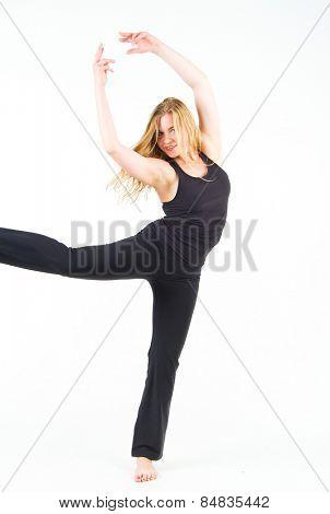 Dancing Girl Ballet Model