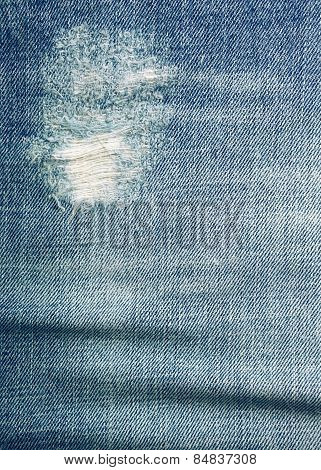 Blue Jeans Texture And Background