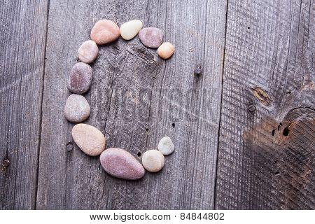 Stone Alphabet - C
