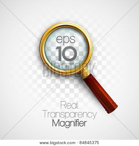 Magnifier. Vector illustration
