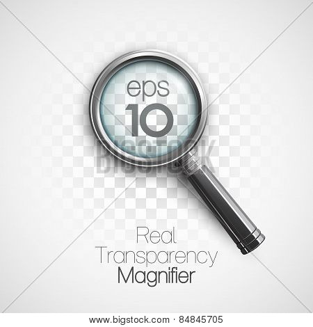 Magnifier. Vector illustration