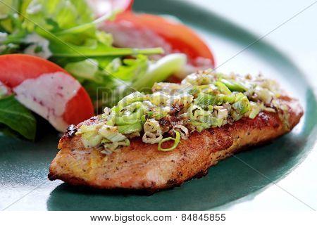 Tasmanian Salmon Grill