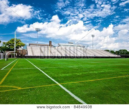 Generic American football and general sports stadium.