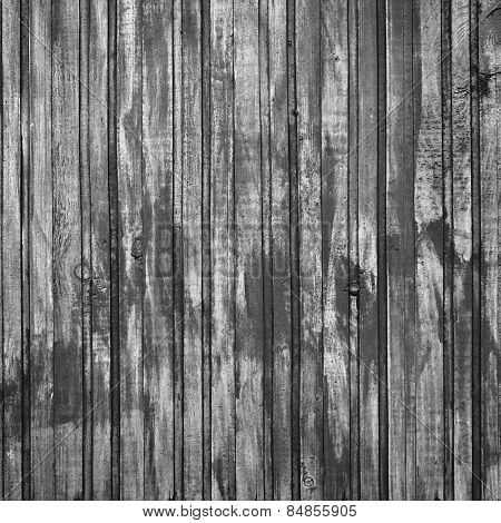 Old Cracked Blackened Planks As A Backdrop For Design