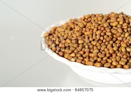 Closeup of Moth Beans, Indian name Matki