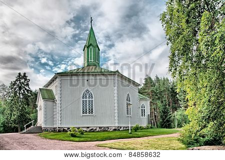 Reposaari. Finland. Lutheran church