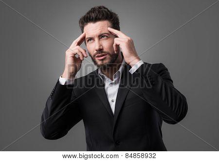 Brainpower Concept