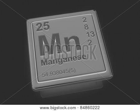Manganese. Chemical element. 3d