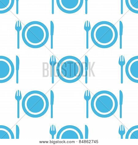 Plate seamless pattern