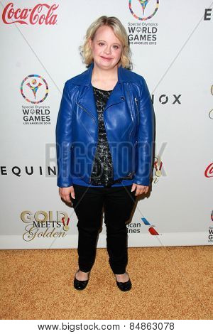 LOS ANGELES - FEB 21:  Lauren Potter at the 3rd