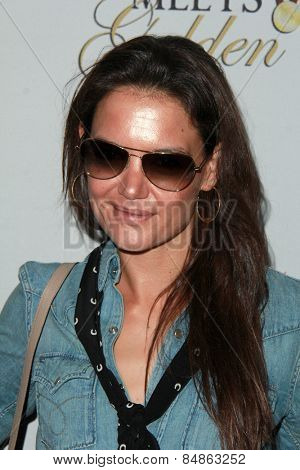 LOS ANGELES - FEB 21:  Katie Holmes at the 3rd