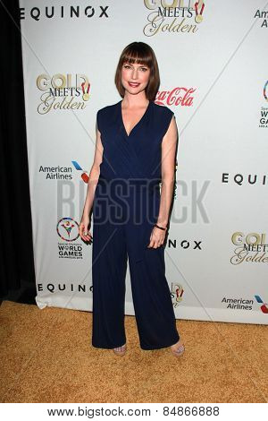 LOS ANGELES - FEB 21:  Julie Ann Emery at the 3rd