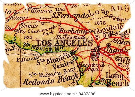 Los Angeles Old Map