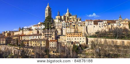 incredible Spain series - Segovia, panorama