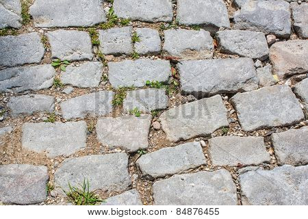 Old cobblestones