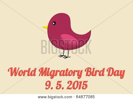 World Migratory Bird Day Card