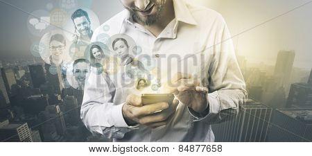 Concept Of Social Media.