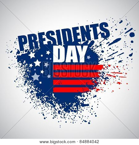 Presidents Day Vector Background