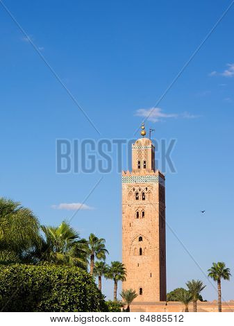 Koutoubia In Marrekesh, Morocco