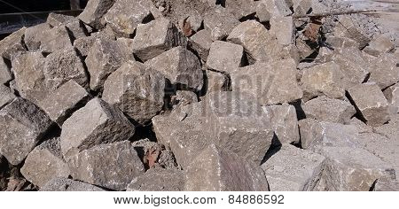 Cobble stone - background