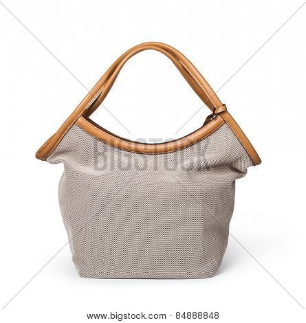 women bag isolated on white background